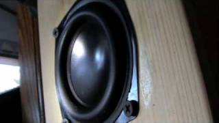 Mini Subwoofer ND90 BIG EXCURSION!