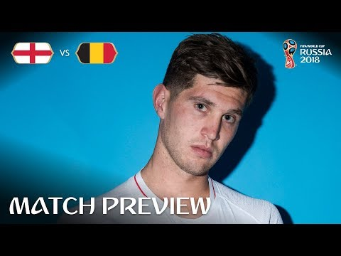 John STONES (England) - Match 45 Preview - 2018 FIFA World Cup™