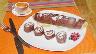 Egg Free French Chocolate Crepes Video Recipe by Bhavna