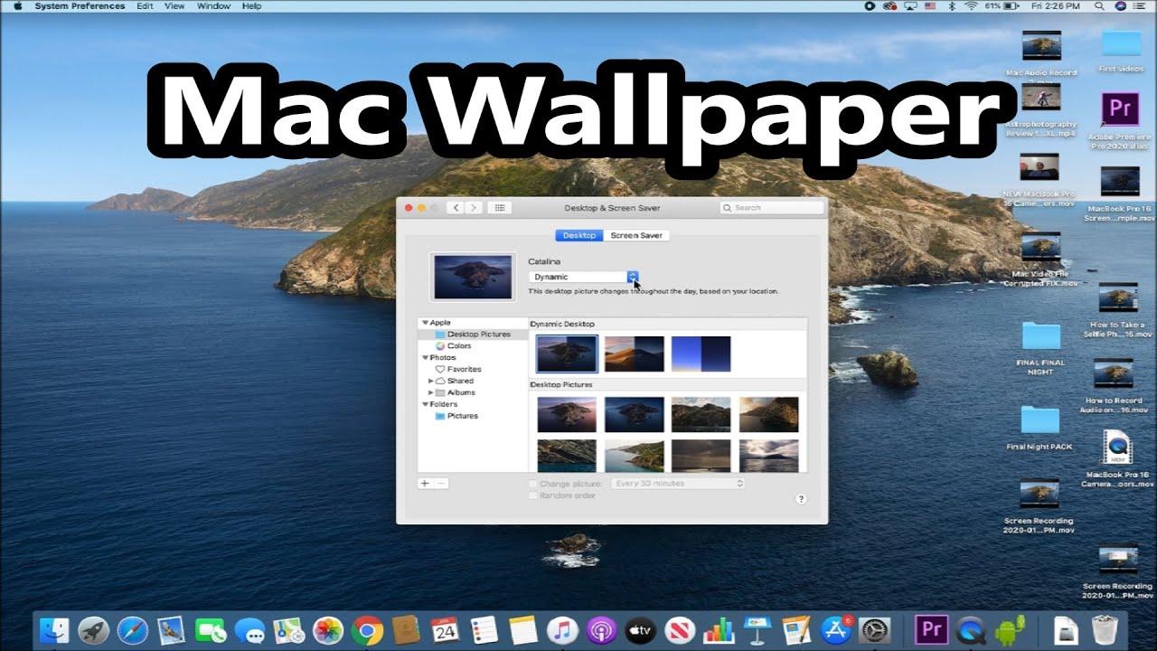 How To Change Wallpaper Macbook Youtube