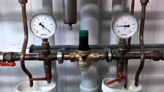 Регулятор давления воды Honeywell D06F(Регулятор давления воды Honeywell D06F на испытательном стенде завода производителя в Германии., 2013-11-29T12:05:29.000Z)