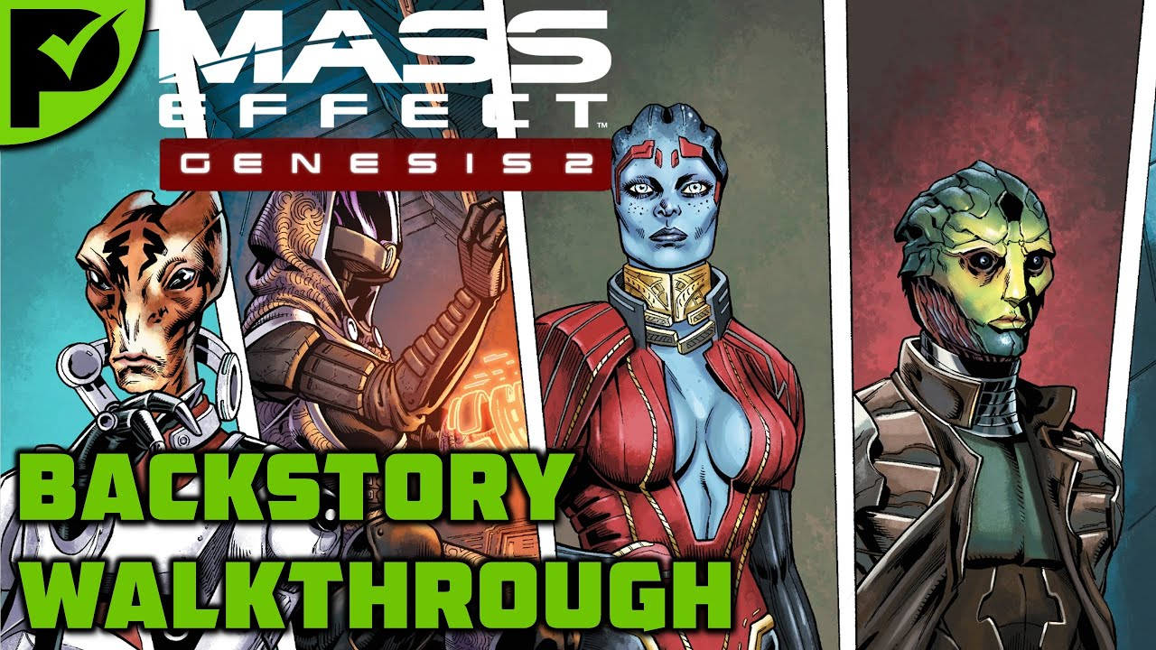 Genesis 2: A recap of the story so far - Mass Effect Genesis 2 Walkthrough [Legendary Edition]