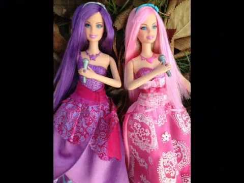 My Barbie The Princess & The Popstar Keira and Tori doll Photoshoot