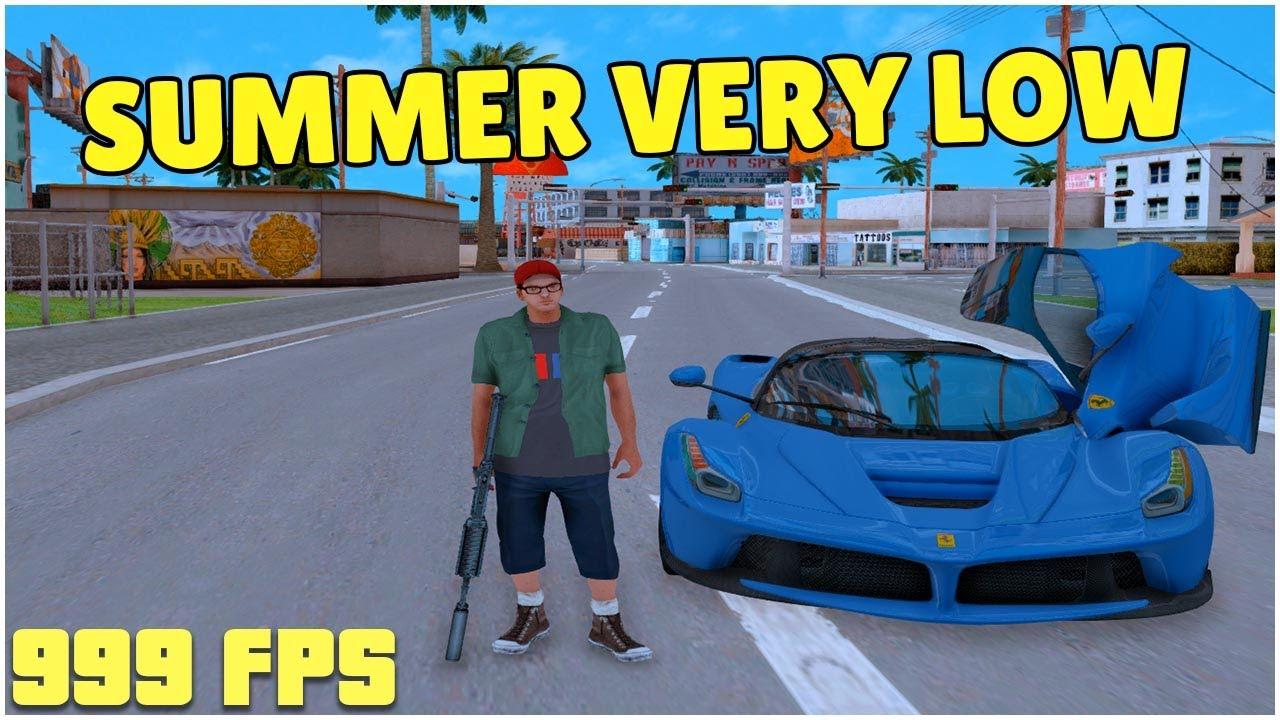 MODPACK SAMP SUMMER VERY LOW PC!