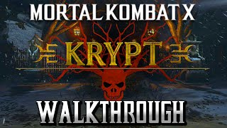 Mortal Kombat X · KRYPT Walkthrough - All Weapons/Items Full Unlocks Video Guide