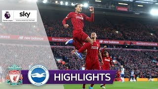 Doppelter Van Dijk beschert Sieg | FC Liverpool - Brighton & Hove Albion 2:1 | Highlights