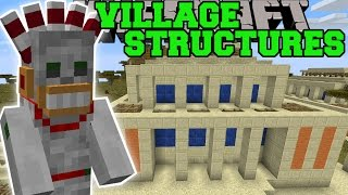 Minecraft: VILLAGE STRUCTURES (DUNGEONS, EPIC TRAPS, NEW VILLAGES, & MORE!) Mod Showcase