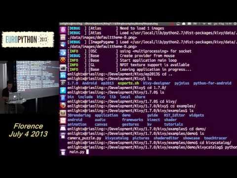 Image from Kivy, Python RAD per lo sviluppo di applicazioni mobile e non solo
