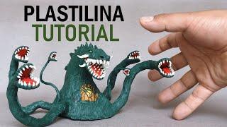 Como hacer a BIOLLANTE de Plastilina paso a paso - Mi mundo de Plastilina