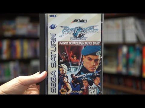 Street Fighter: The Movie: The Game (Sega Saturn) - James & Doug