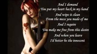 I Want My Innocence Back - Emilie Autumn (with lyrics)