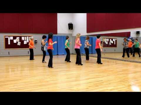 Dance With Me Tonight - Line Dance (Dance & Teach in English & 中文)