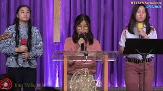 HTTLVN Sacramento | Ngày 12/09/2021 | Chương trình thờ phượng | MSQN Hứa Trung Tín