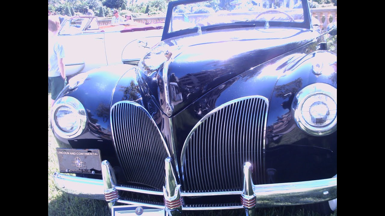 1941 Lincoln Continental Convertible Dkblu Lakemirror102012 Youtube Pontiac Star Chief