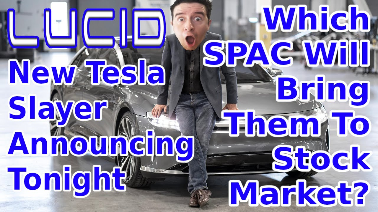 Lucid Air Stock Announcement Today ...
