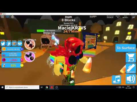 Buying The Auto Egg Equip Game Pass In Mining Simulator Youtube