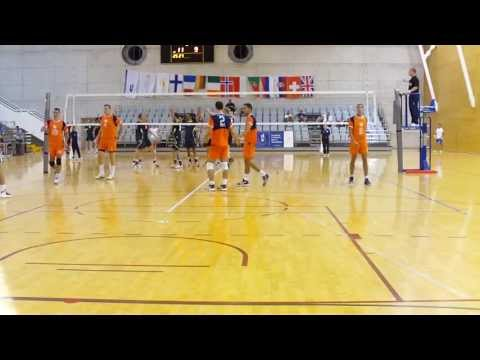 EUSA 2013 Volleyball: University of Nis - Technical University of Munich FINAL