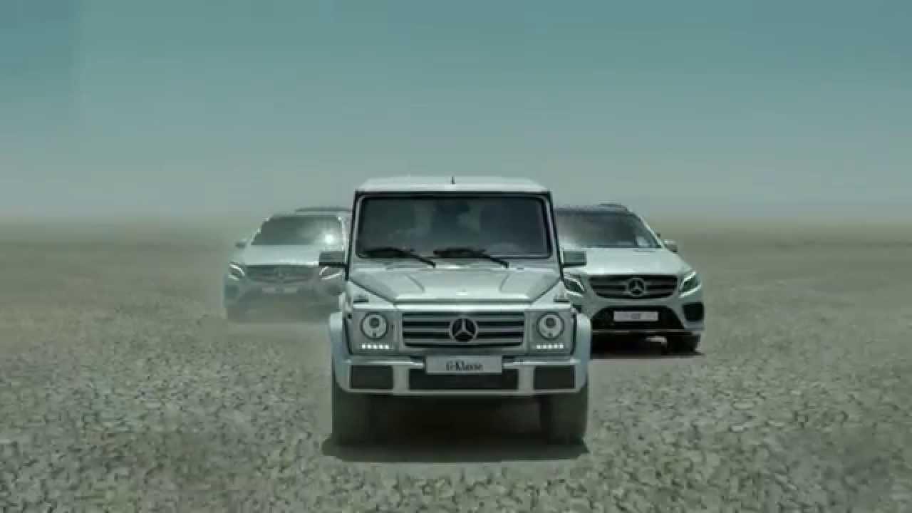 Mercedes Benz Suv Range Mer Intelligens Enn Noen Gang Før