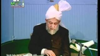Francais Darsul Quran 8th March 1994 - Surah Aale-Imraan verses 170-177 - Islam Ahmadiyya
