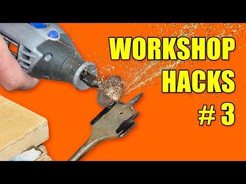 5 Workshop Hacks: Part 3 - Woodworking Tips and Tricks