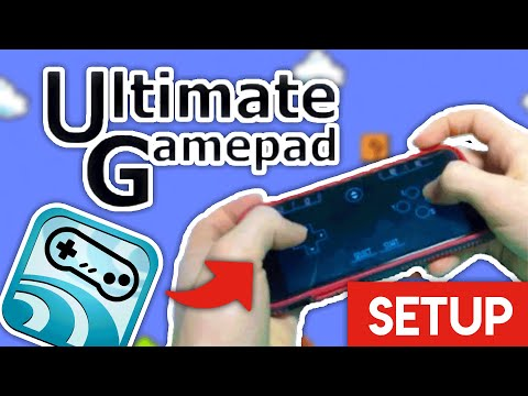 Ultimate Gamepad Setup! Use Your Phone As A Bluetooth Controller!