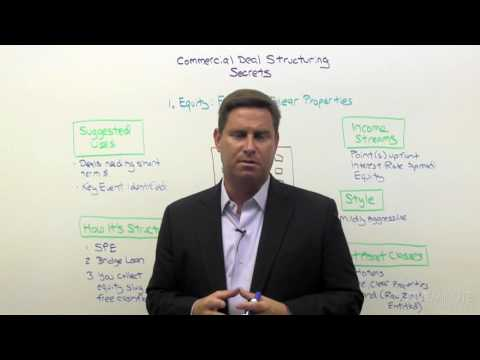 Commercial Deal Structuring 03: Equity Strategies For Free And Clear Properties