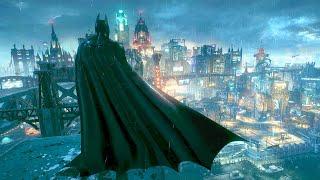 Batman Arkham Knight - Epic Flawless Combat & Beautiful Gotham City Free Roam Gameplay