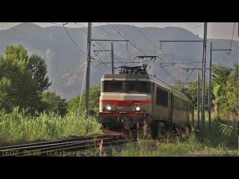 Passage de trains Grandes Lignes à Palau del Vidre