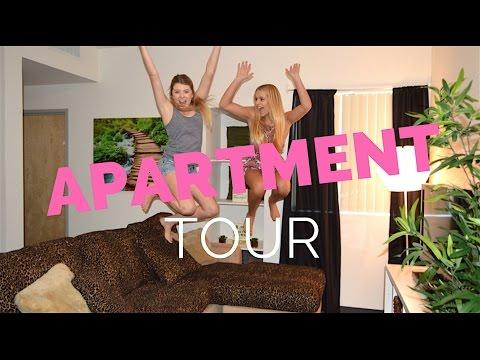 College Apartment/Dorm Tour | SeaBlondes