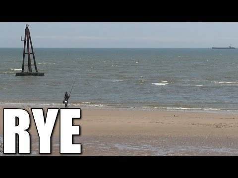 Rye In East Sussex - British Sea Fishing Locations, South East Coast, England, UK