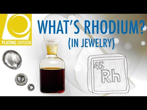 WHAT IS RHODIUM (In Jewelry)