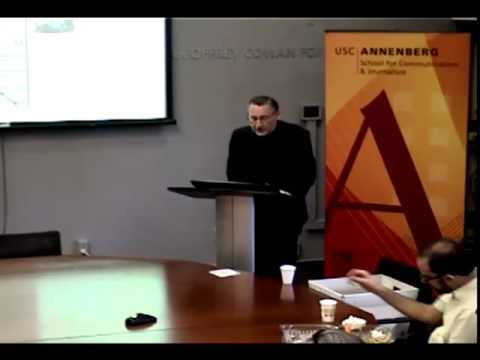 Annenberg Research Seminar - Joe Saltzman
