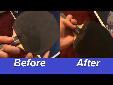 How To Clean Table Tennis Racquet