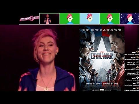 LIVE Captain America Civil War Spoiler-Free Review   via Smiletime Live.