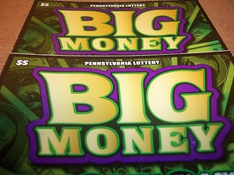 (WINNER)NEW BIG MONEY $5 TICKET~PA LOTTERY INSTANT GAMES