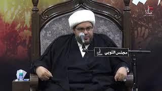 الشيخ عبدالحميد الغمغام - كيف وجهت السيدة فاطمة الزهراء الخطاب إلى من ظلمها