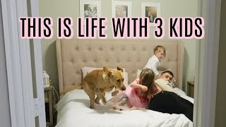 DAY IN THE LIFE OF A MOM OF 3 | Tara Henderson