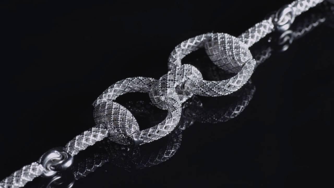 Gucci Sterling Silver Horsebit Light Bracelet