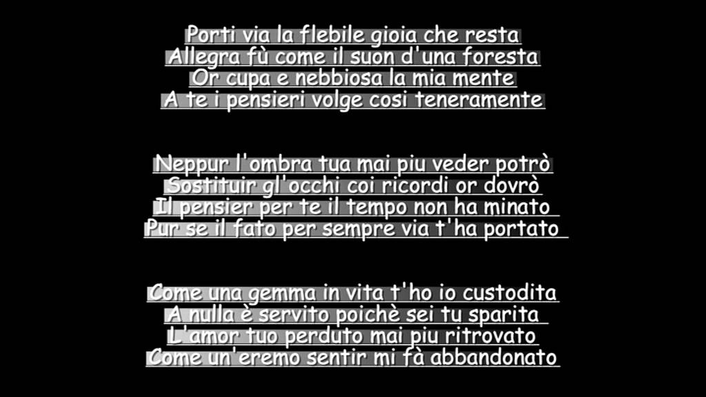 Poesia Per La Morte Di Una Madre Youtube