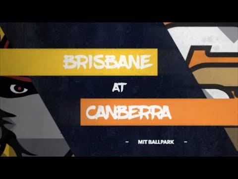 LIVE: Brisbane Bandits @ Canberra Cavalry, R10/G3