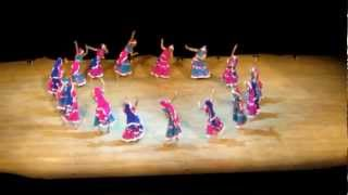 Western Canada Raas Garba Competition. Vancouver Garba - 1st Place Winners - Chania Chokris