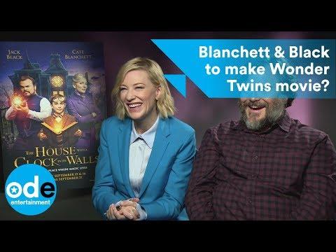 Cate Blanchett & Jack Black to make Wonder Twins movie?