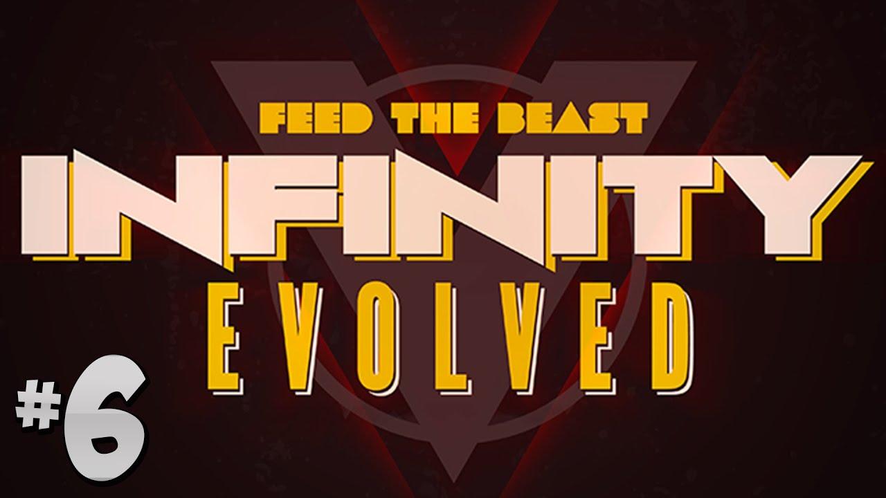 FTB Infinity Evolved - Ep 6 - New Base & Botania Basics!