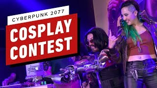 Incredible Cyberpunk 2077 Cosplay Contest at PAX West 2019!