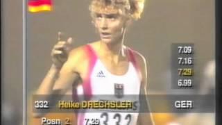 3328 World Track & Field 1991 Long Jump Women Heike Drechsler