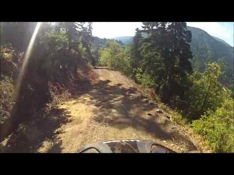 F 800 GS Dirt Ride - Mountain Oeta Greece