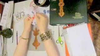 видео-урок как делать орнаменты