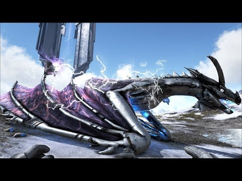 Ark Coop Map Crystal #43: Thần rồng sấm sét siêu đẹp