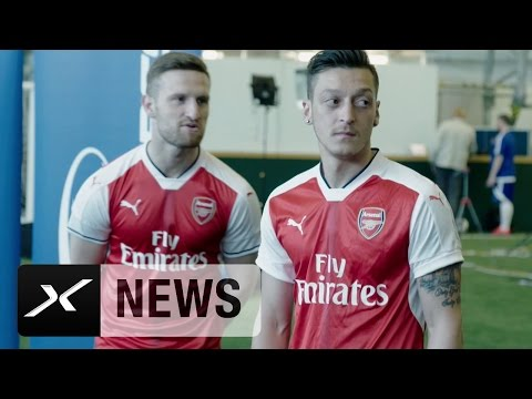 Trickshots bei Arsenal: Mesut Özil verzaubert alle | FC Arsenal
