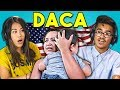 TEENS REACT TO DACA (ILLEGAL IMMIGRATION